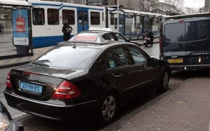 taxi in amsterdam